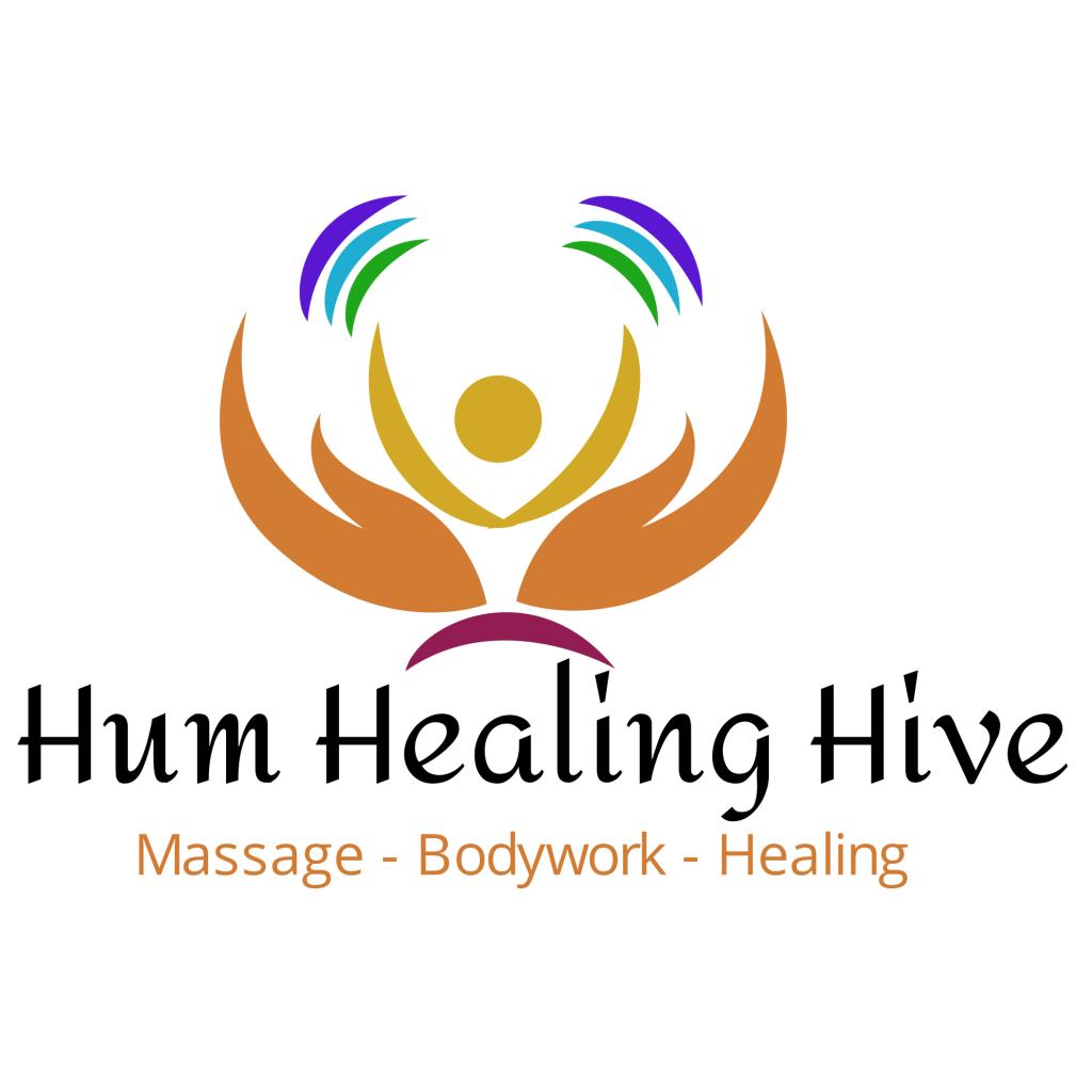 Hum Healing Hive Logo